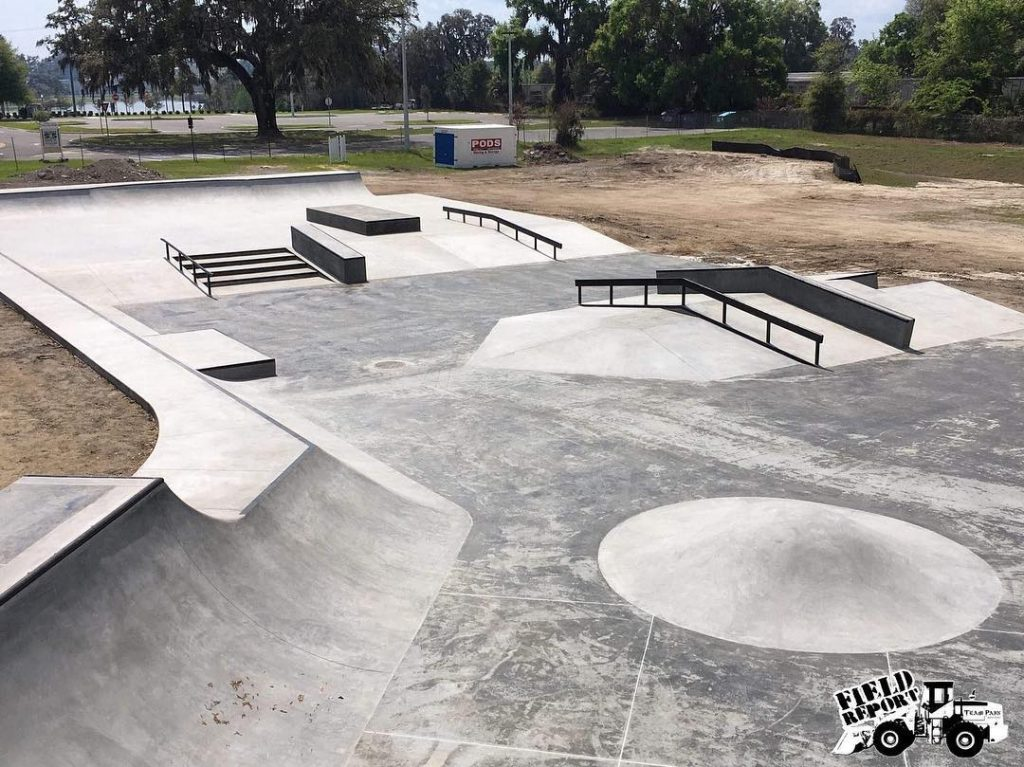 Ocala Skate Park is nearly complete, with a scheduled grand opening on May 18