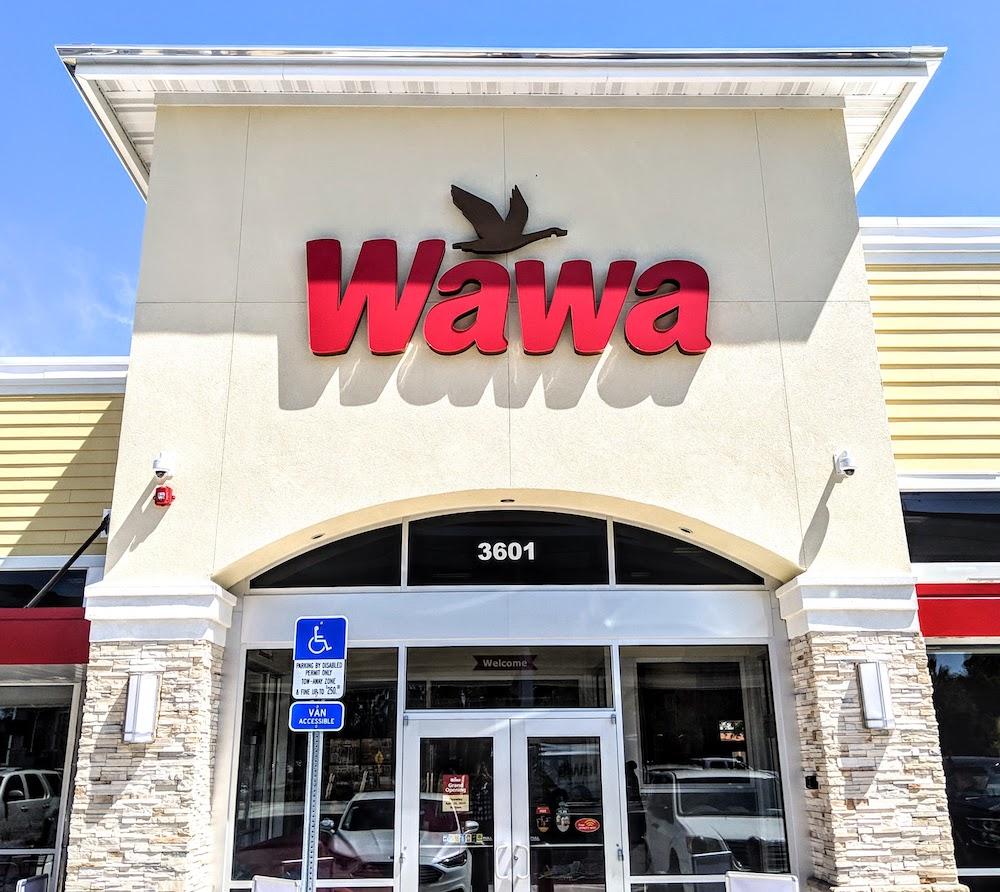 Wawa located at 3601 E Silver Springs Blvd in Ocala, Fl