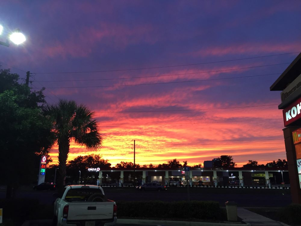 Beautiful Ocala sunset