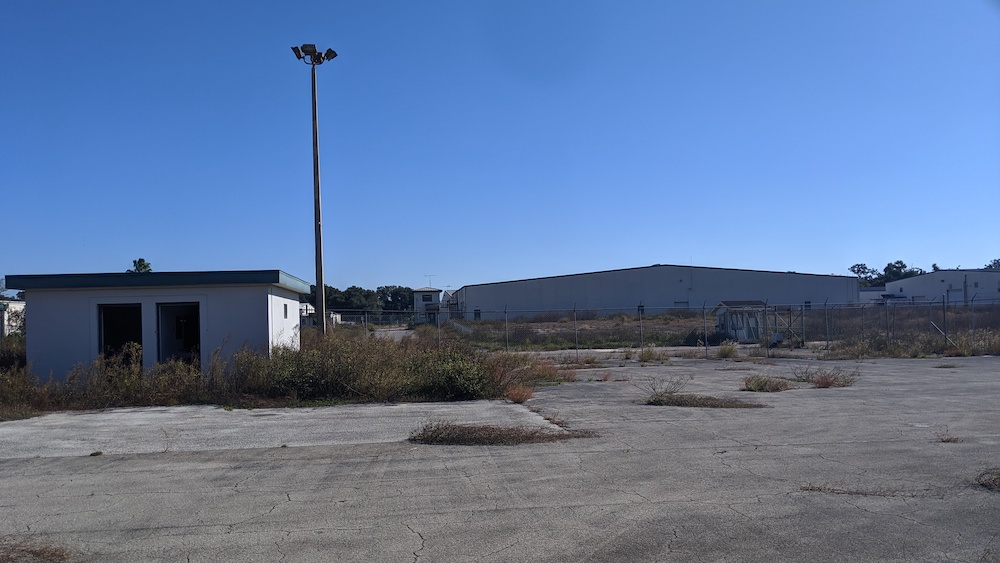 The Mark III Industrial Park has nearly a dozen buildings that have been abandoned for the last 15 years