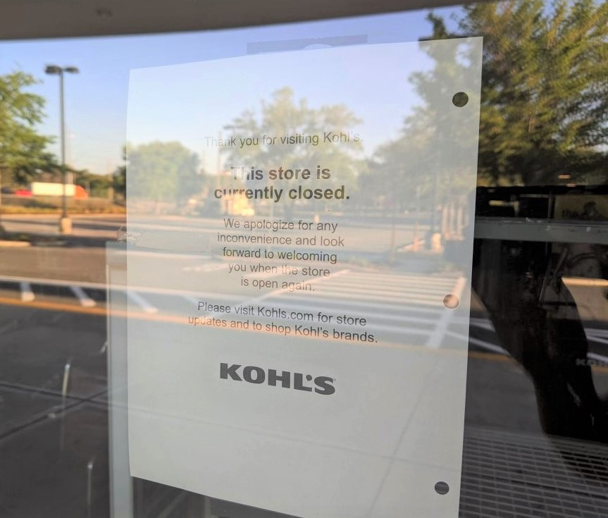 Kohl's Temporarily Shuts Down All Stores In Wake Of