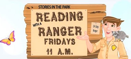 Ocala Recreation and Parks hosting 'Reading with Rangers & Friends' program at various parks