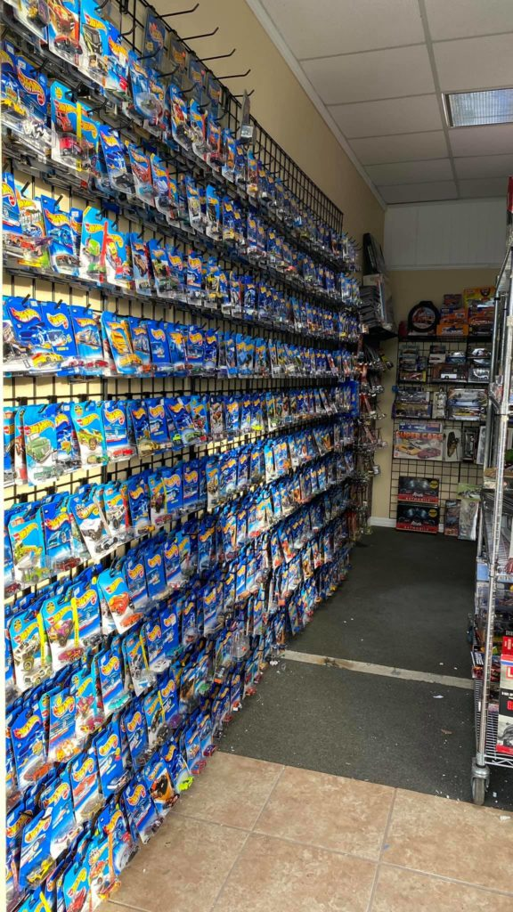 Hot Wheels on sale at Vintage Toy Universe in Ocala Florida