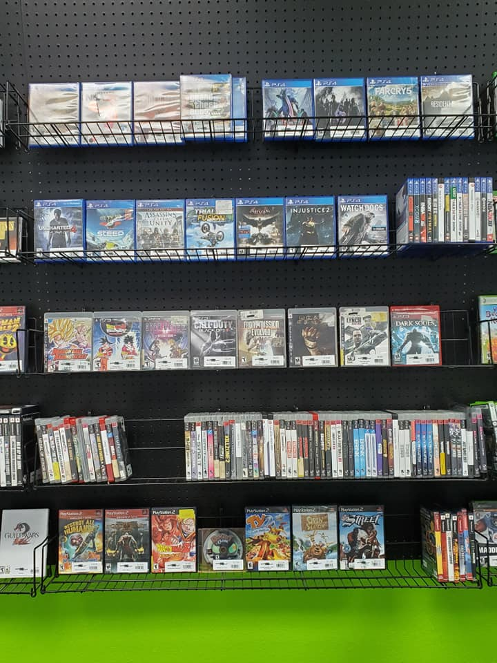 Play Station 4 games at Respawn Replay